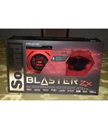 Creative Sound Blaster Zx SBX Gaming Audio Card w High Performance Headp... - $169.99