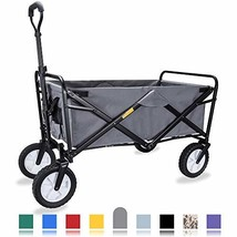 WHITSUNDAY Collapsible Folding Garden Outdoor Park Utility Wagon Picnic ... - $85.62