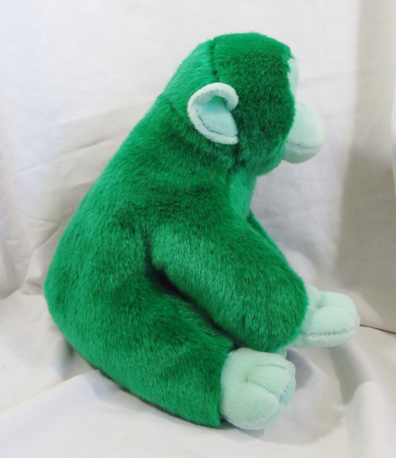 Cuddlekins Vibes Shelby The Chimp Green Plush Stuffed Animal Toy New Very Soft