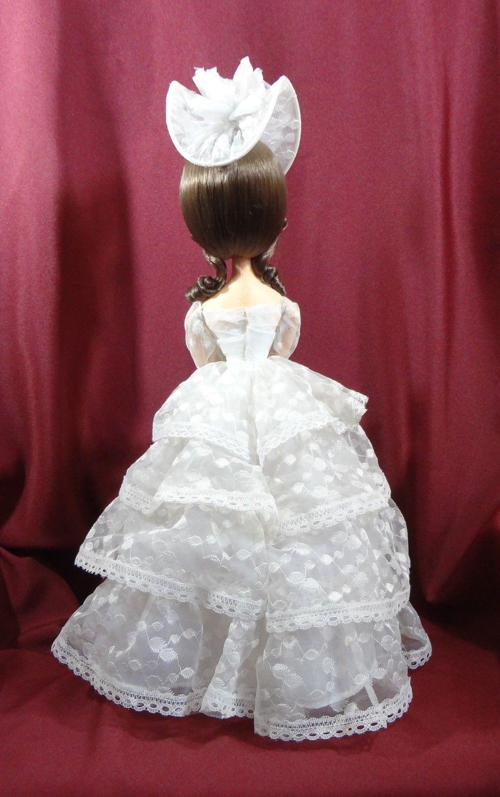 Big Eyed Southern Belle Bradley Style Vintage Doll
