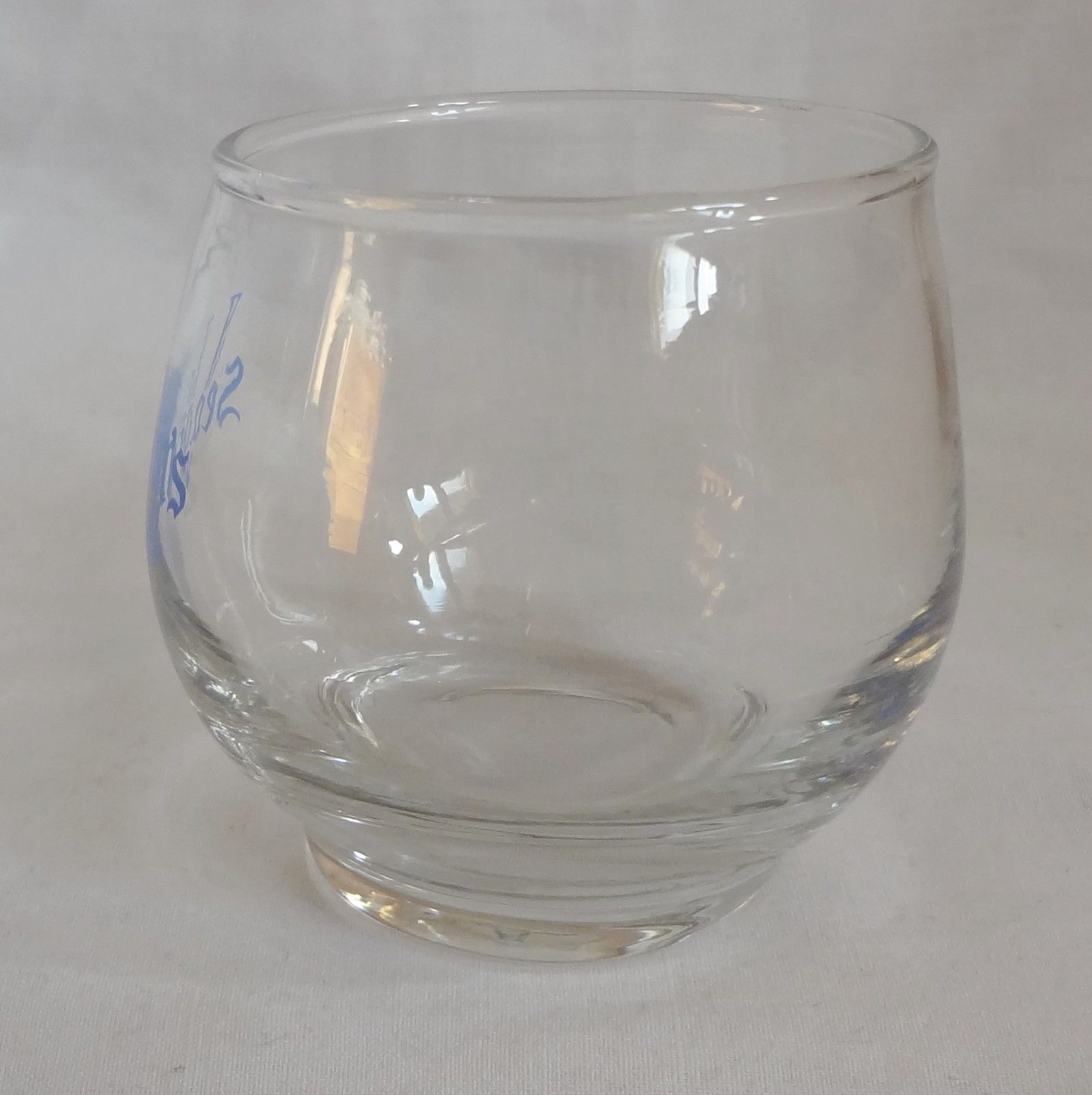 Seagram's VO Whiskey Whisky 6 oz Glass Barware