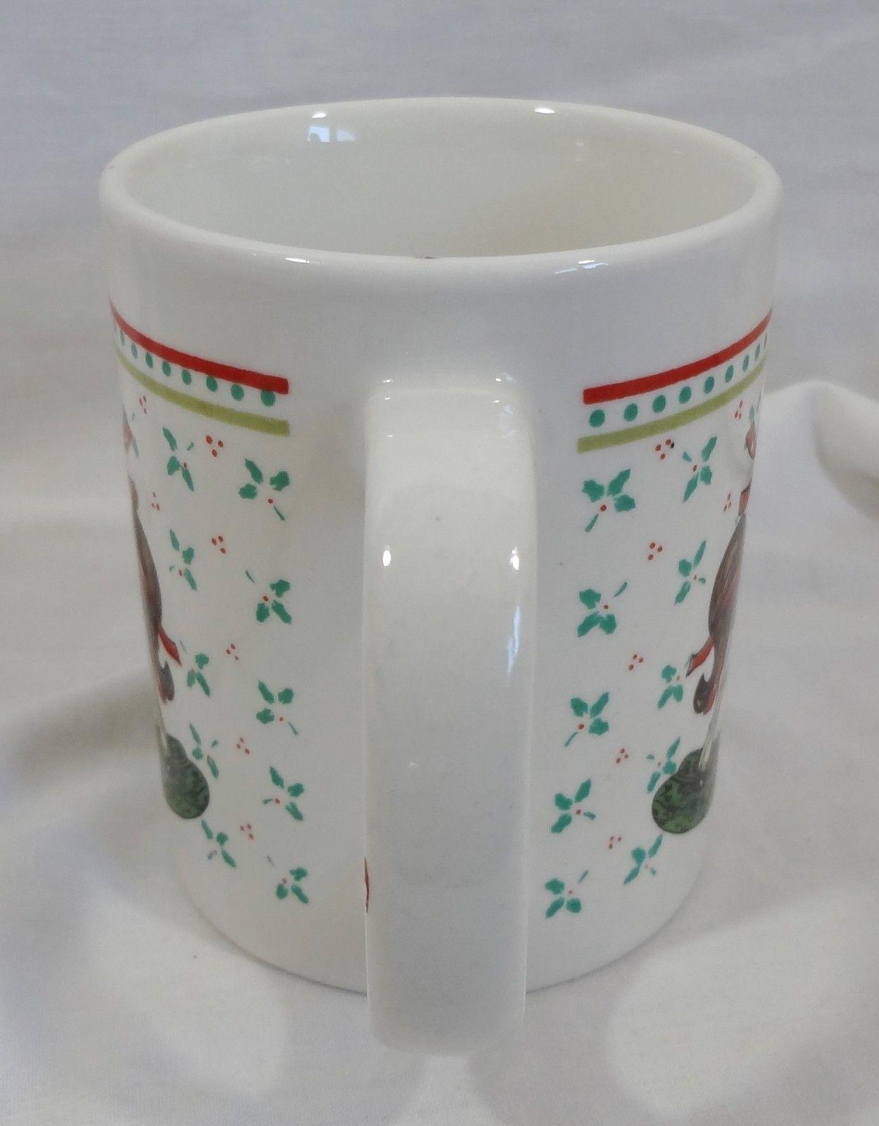 Christmas Rocking Horse 10 oz Coffee Mug Cup