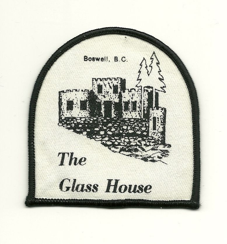 Boswell BC Canada The Glass House Cloth Patch Souvenir