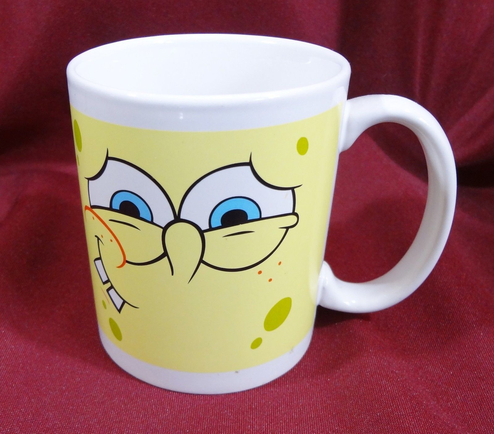Spongebob Squarepants 10 oz Ceramic Coffee Mug Cup