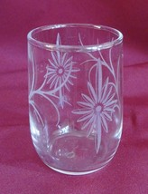 Daisy Drinking Glass 4 Ounce Tableware Dinnerware - $1.49