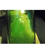7Up Green Embossed Bicentennial Bottles (3) with caps No refill style - $15.00