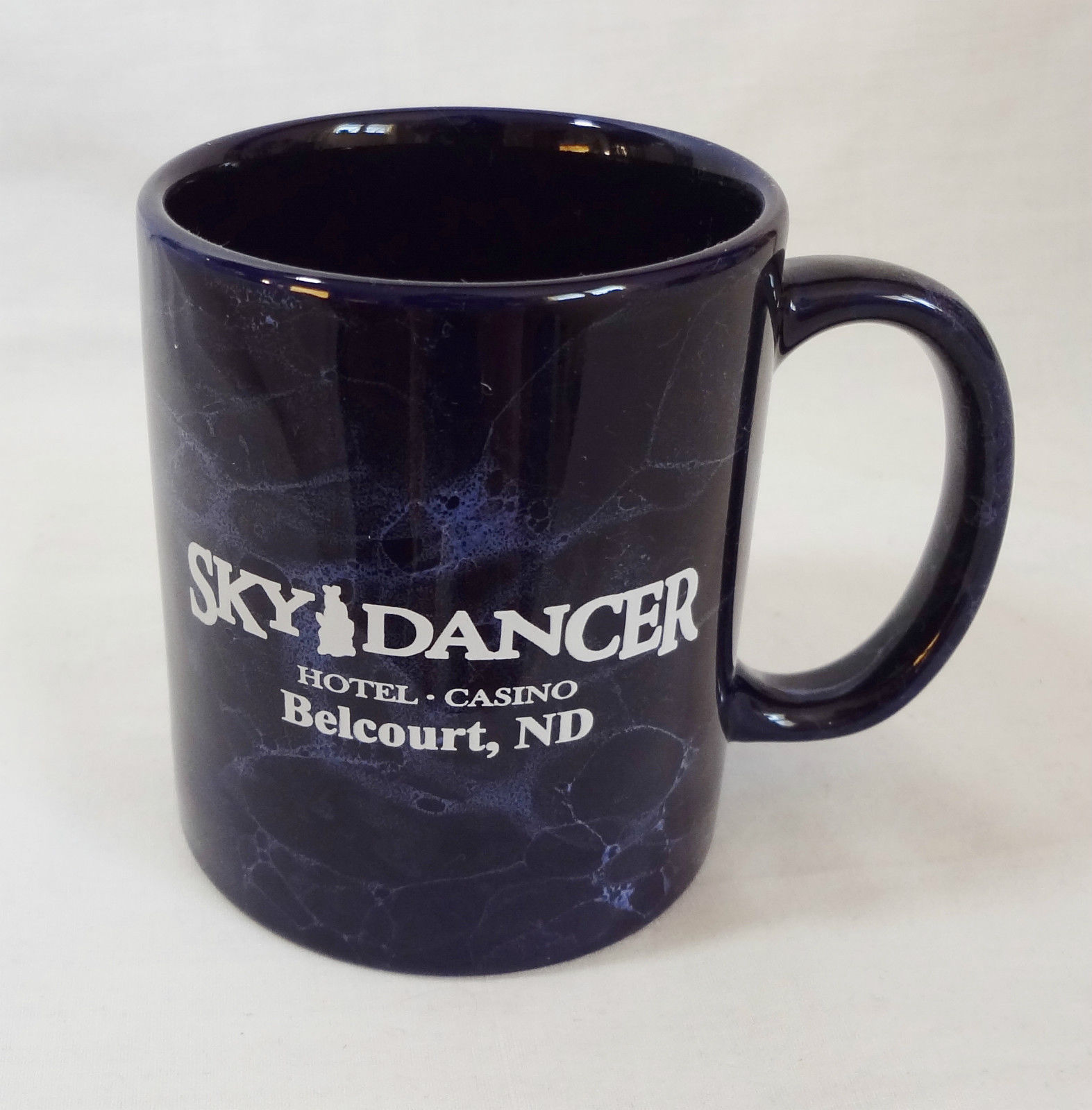 Sky Dancer Hotel Casino Belcourt ND 10 oz Coffee Mug Cup Souvenir