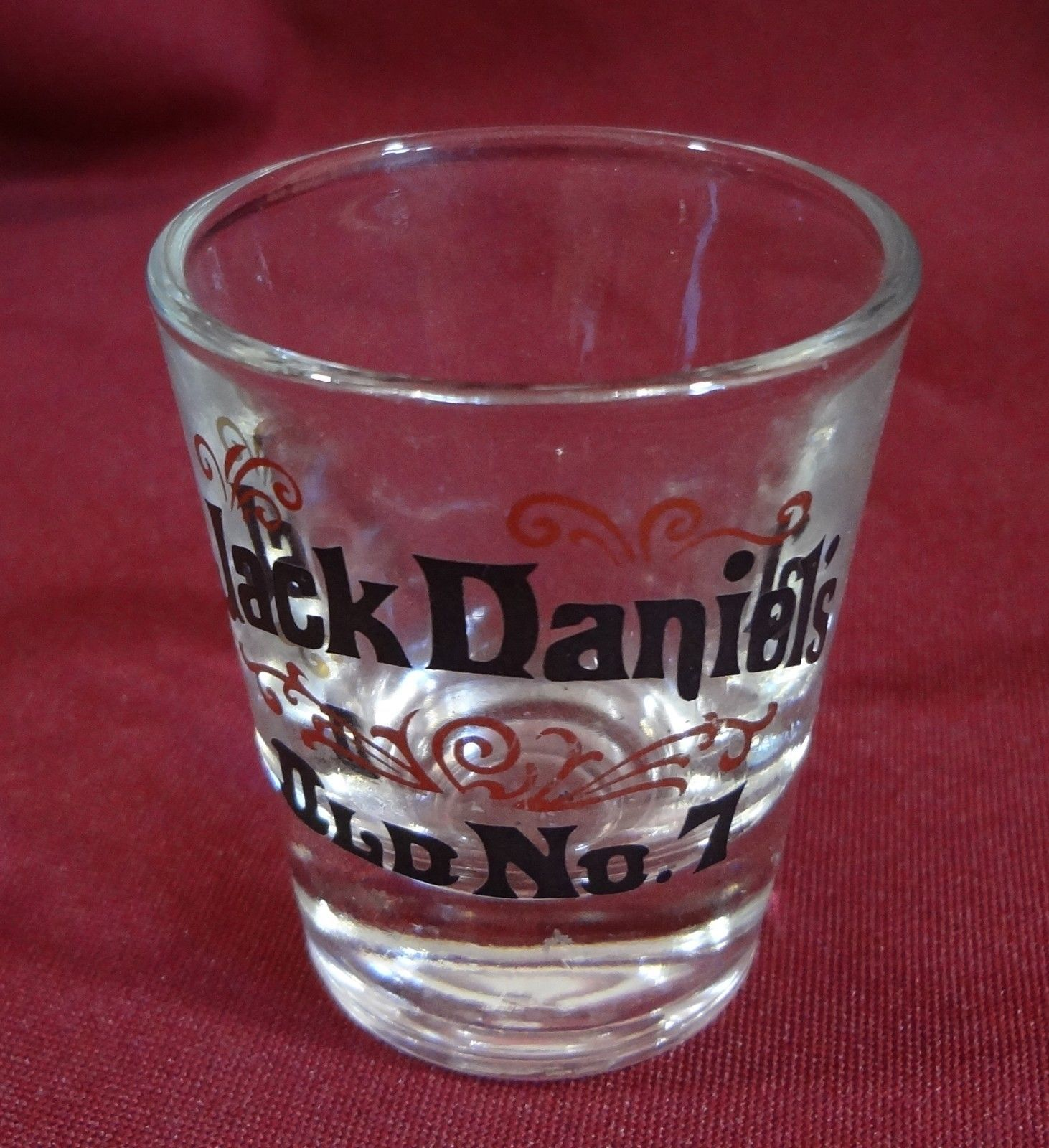 Jack Daniel's Old No. 7 Shot Glass 2 oz Barware