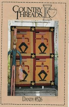 Uncle Sam Wall Quilt Pattern-COUNTRY THREADS-Dandy #526-Finished Size 36... - $7.66