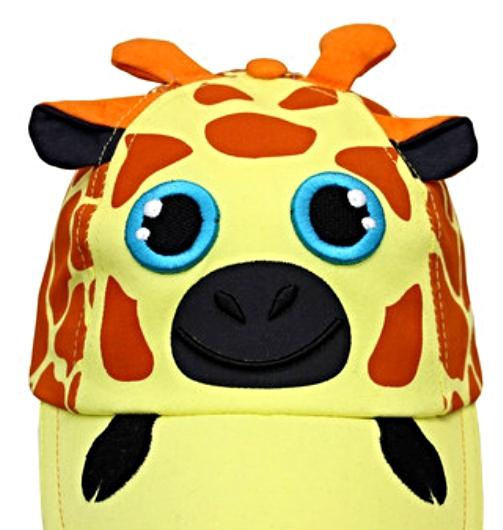 Boys Girls Baseball Cap Super Kid Friendly Giraffe SunHat MSRP $30.00 SAVE $10