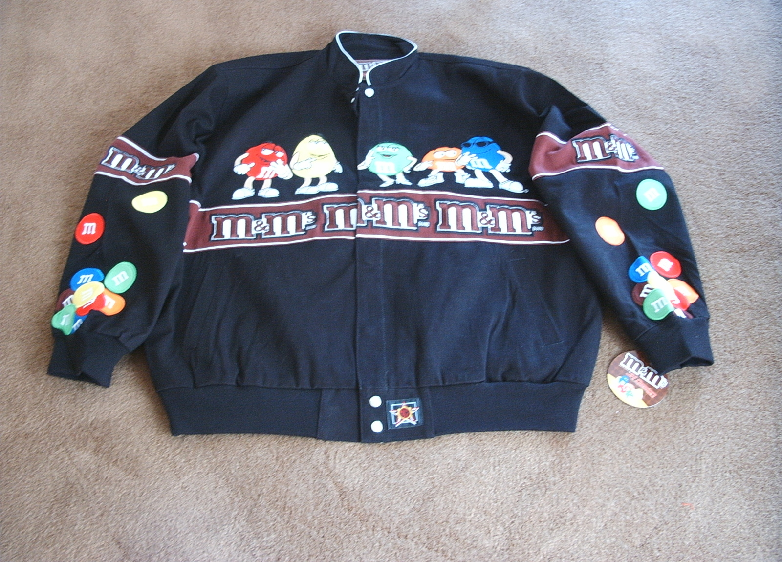 NWT/JH DESIGN/JEFF HAMILTON/M & M JACKET/BLACK/2XL