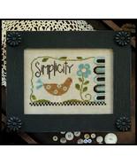 Simplicity bird cross stitch chart Little House Needleworks - $7.20