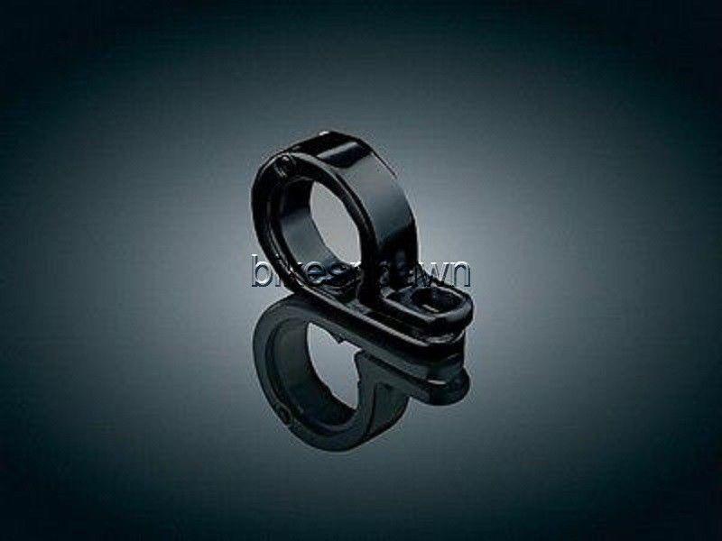 """New Kuryakyn 4023 Black 1-1/8"""" / 1- 1/4""""  P-Clamp"""