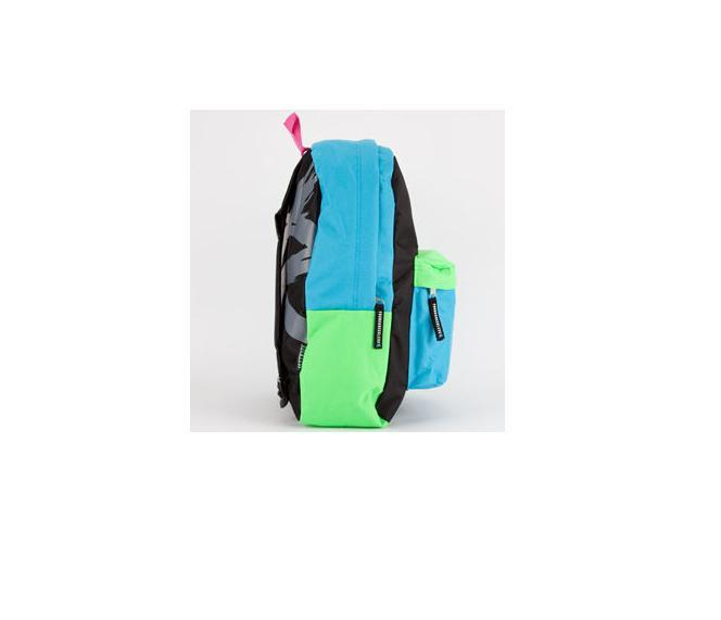 MEN'S GUYS YOUNG & RECKLESS Y&R NEON RECKLESS SCHOOL BACKPACK DAY BAG NEW $50