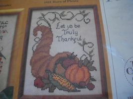 Thanksgiving Horn of Plenty Counted Cross Stitch Kit - $45.00