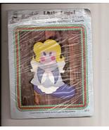 Aunt Martha's Little Angel Christmas Stocking Machine Zigzag Applique Pa... - $9.99