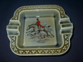 Irish Porcelain Ashtray WADE Co Armach shamrock... - $26.32