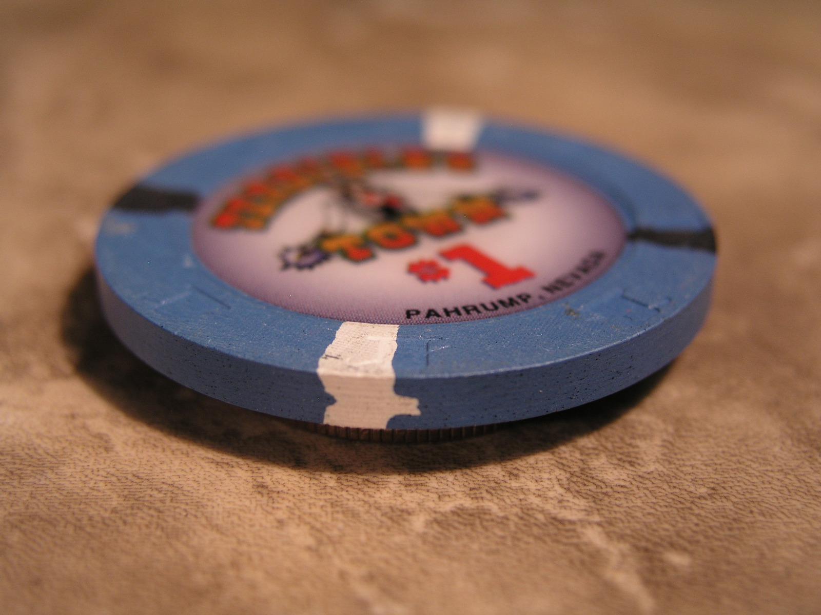 "$1.00 CASINO CHIP FROM: ""TERRIBLE'S TOWN CASINO"" - (sku#2441)"
