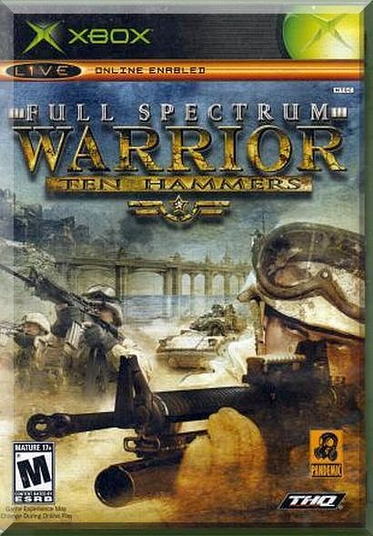XBOX - Full Spectrum Warrior: Ten Hammers (2006) *Complete With Instructions*