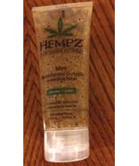 Hempz HERBAL BODY SCRUB EXFOLIATOR SANDALWOOD AND APPLE 3.4 oz - $7.69