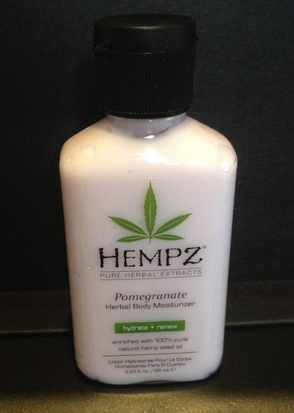 Hempz Pomegranate Herbal Body Moisturizer Travel Size 2.25 oz NEW x3