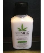 Hempz Pomegranate Herbal Body Moisturizer Travel Size 2.25 oz NEW x3 - $9.99