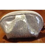 SILVER LEOPARD PRINT cosmetic bag NWT Ulta - $6.00