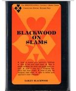 Blackwood on Slams by Easley Blackwood (1970) Bridge Book - $5.99