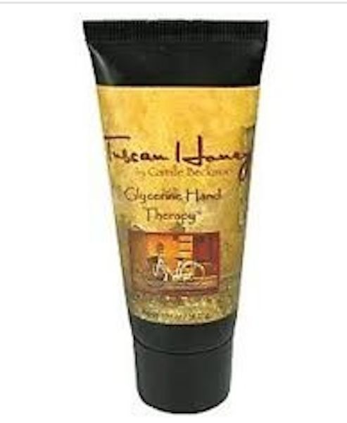 CAMILLE BECKMAN Hand Cream Therapy Cream TUSCAN HONEY 1.35 oz Travel Size