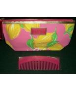 Estee Lauder 2014 Lilly Pulitzer Pink Lemon Print  COSMETIC BAG + Pink  ... - $6.99