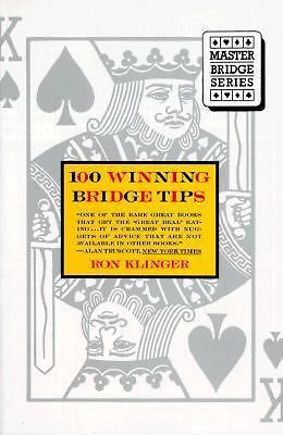 100 Winning Bridge Tips for the Improving Player (Master bridge series) Klinger
