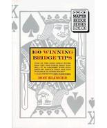 100 Winning Bridge Tips for the Improving Player (Master bridge series) ... - $4.99