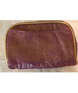 Cosmetic Bag Ulta Purple & Gold - $4.99