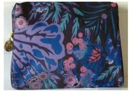 Estee Lauder Black. Pink, Green, Blue, Purple Print Cosmetic Bag - $5.99