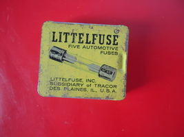 Vintage BOXE OF (4) LITTELFUSE TRACOR MICRO  FUSES - $6.50