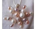 Pearls flower silver pendant 6 thumb155 crop