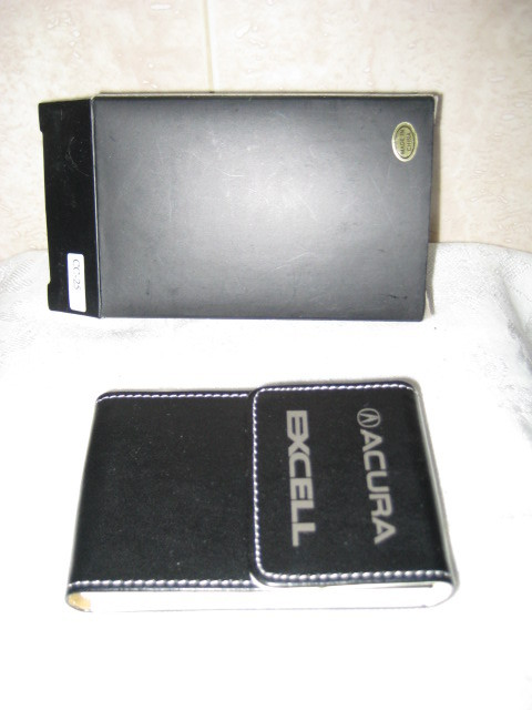Acura Leather Credit Card/ Business Card Case - NIB