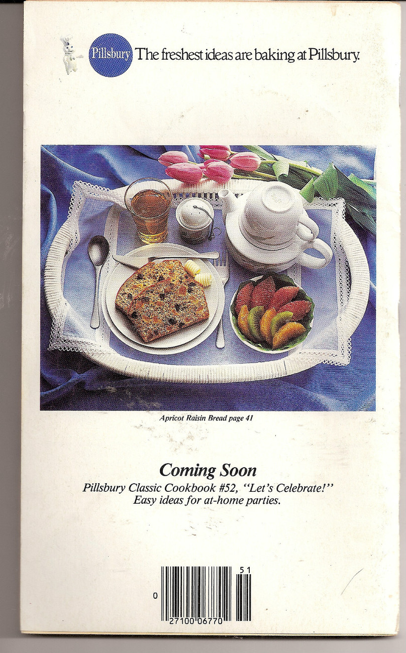 Feelin Good Tasty Nutritious Recipes for Spring Pillsbury Classic CookbooksNo 51