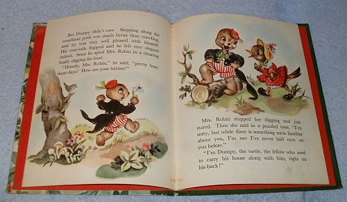 Children's Bonnie Book Circus Time Jack in the Book