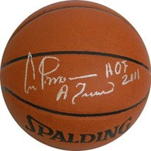 Artis Gilmore signed Indoor/Outdoor Basketball HOF 2011 & A Train (panel... - $98.95