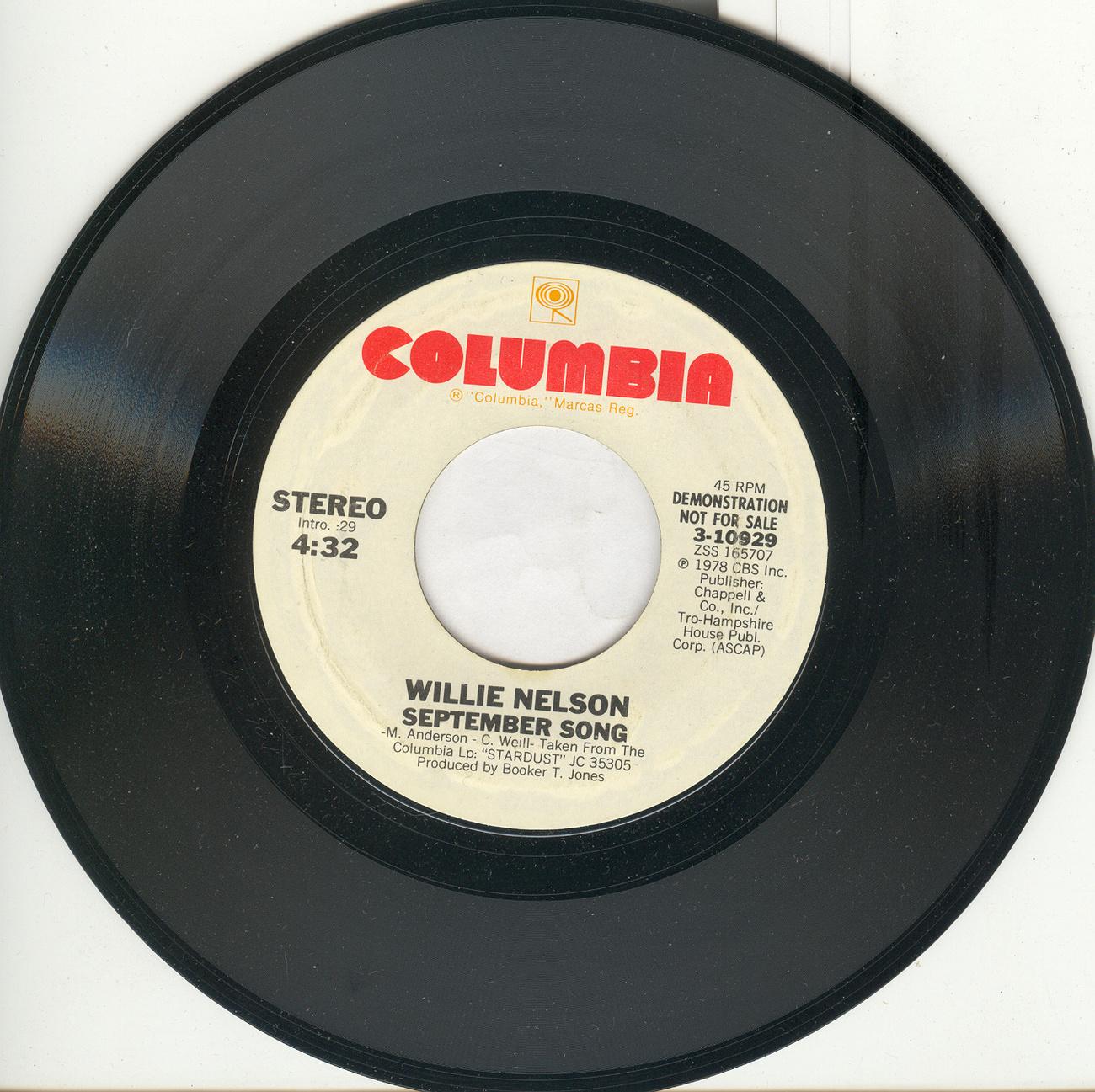 Willie nelson september song