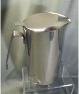 SCARCE PRODOTTI STELLA STAINLESS STEEL COVERED WATER PITCHER - MADE IN I... - $23.99