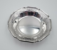 """Vintage 800 Silver Cutout Bowl by WMF Germany 51 grams 4 7/8"""" in Diameter  - $173.25"""