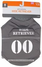 "HALLOWEEN* Extra Small PET COSTUME Gray ""WIDE RETRIEVER"" Up To 10lbs FOO... - $6.30"