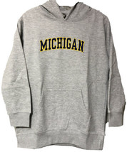 Ouray Youth Boys Girls University of Michigan Gray Hoodie Sweatshirt Siz... - $19.70