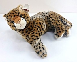 "TY Classic Plush Piston Cheetah Leopard Panther Stuffed Animal 12"" Retir... - $36.59"