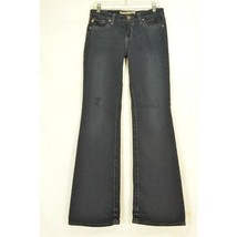 Big Star jeans 28 x 34 Maddie black mid rise fit long lean sexy - $39.59