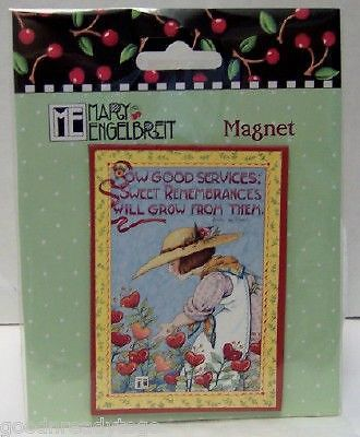 MARY ENGELBREIT SOW GOOD SERVICES MAGNET NEW