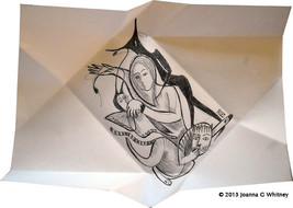 WIN A FREEBIE Personalized Intuitive Drawing-Reading Pen&Ink Original Si... - $24.49