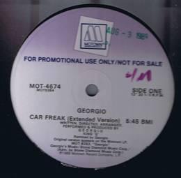 Georgio - Car Freak - Motown MOT-4674 - Promo